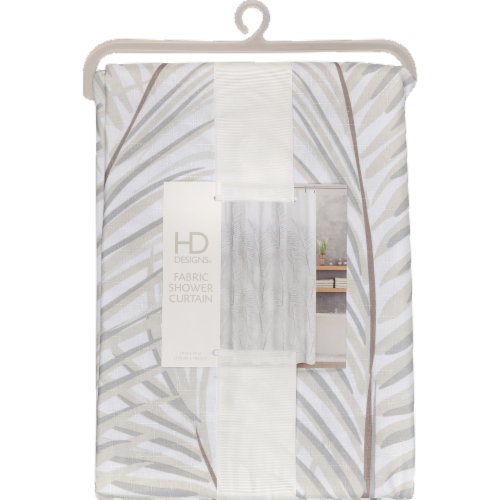 HD Designs® Fabric Shower Curtain - Malay Perspective: front