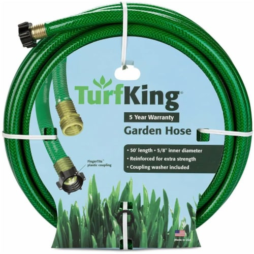 Turf King® Garden Hose - Green Perspective: front