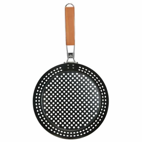 HD Designs Grill® Grilling Skillet Perspective: front