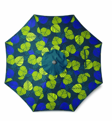 HD Designs Outdoors® Market Umbrella - Palms Perspective: front