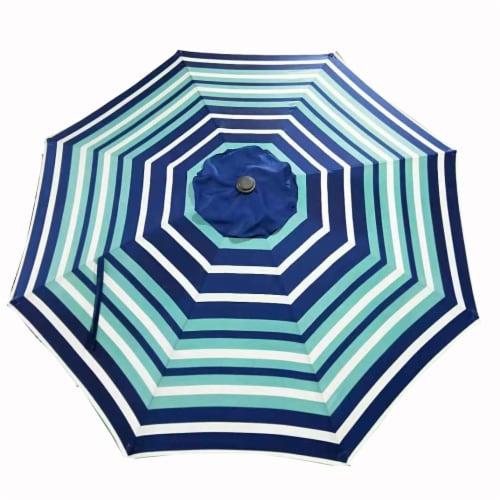HD Designs Outdoors® Market Umbrella - Stripe Perspective: front