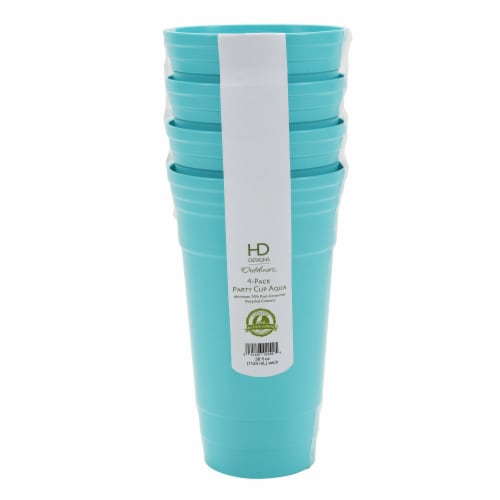 HD Designs Outdoors® Party Cup - Aqua Perspective: front