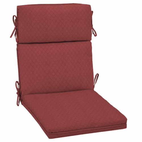 HD Designs Outdoors® Replacement Cushion - Red Perspective: front