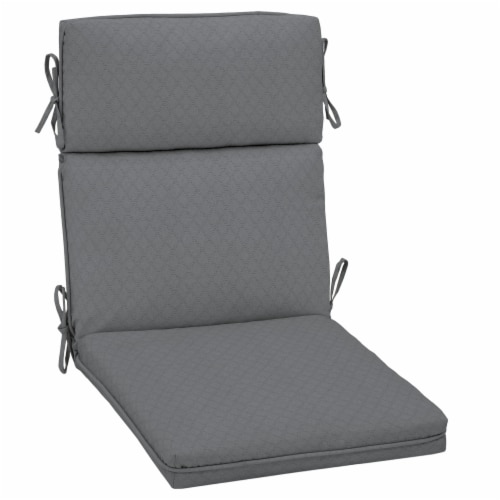 HD Designs Outdoors® Replacement Cushion - Gray Perspective: front