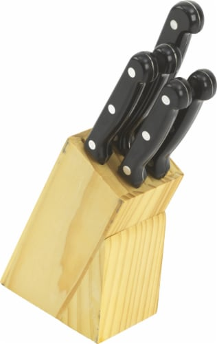 Everyday Living® Knife Block Set Perspective: front