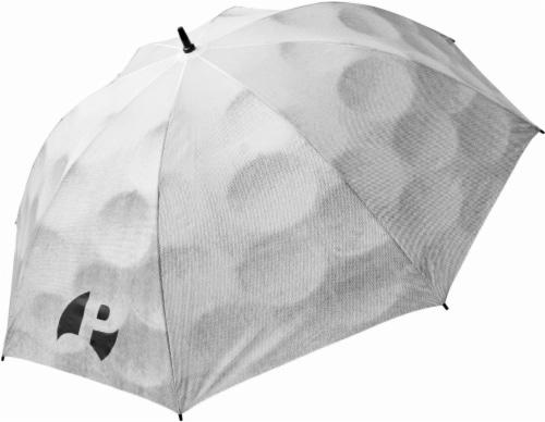Cascade Sport Golf Ball Umbrella - White Perspective: front