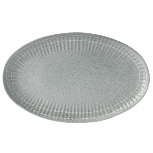 Dash of That® Sam Medium Oval Platter Perspective: front