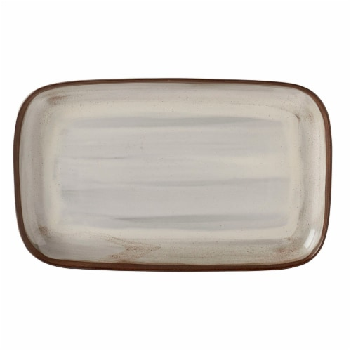 Dash of That Tracey Oval Platter Perspective: front