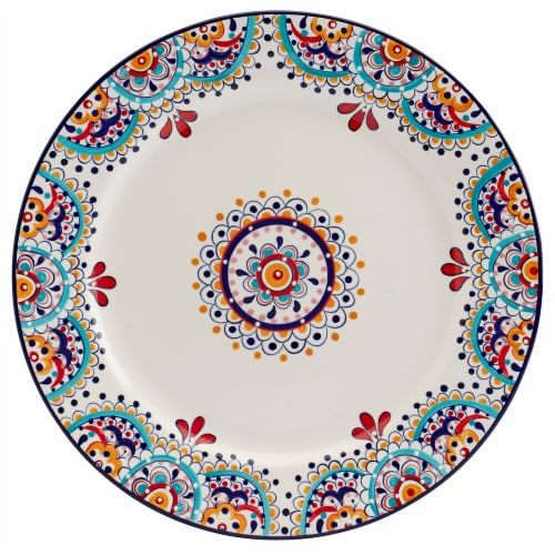 Dash of That™ Elle Round Platter Perspective: front