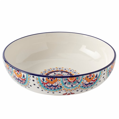 Dash of That Elle Shallow Serve Bowl Perspective: front
