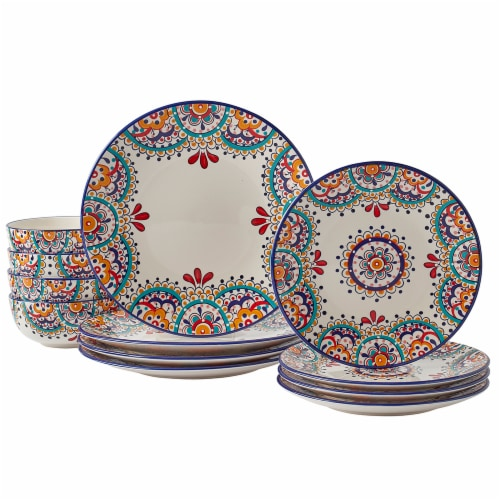 Dash of That Elle Dinnerware Set Perspective: front