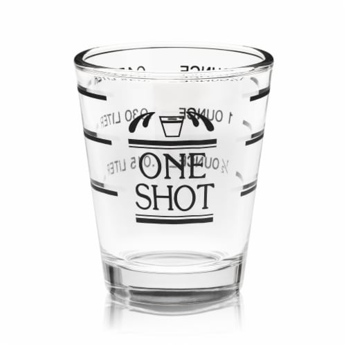 Dash of That Measured Shot Glass Perspective: front