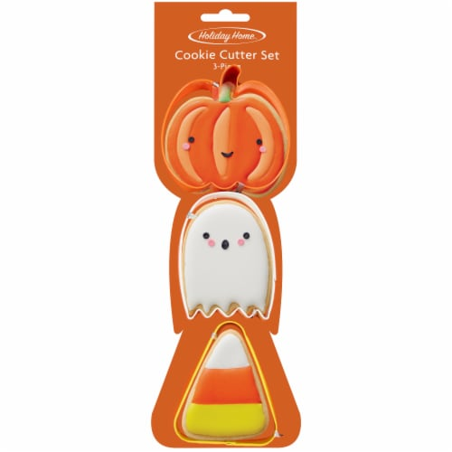 Holiday Home™ Pumpkin Ghost Cookie Cutter Set Perspective: front