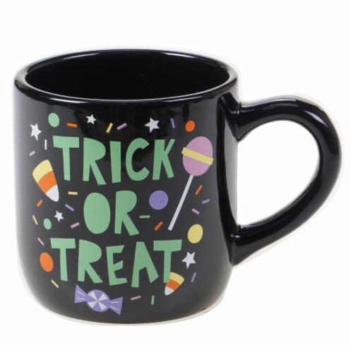 Holiday Home Trick or Treat Mug Perspective: front