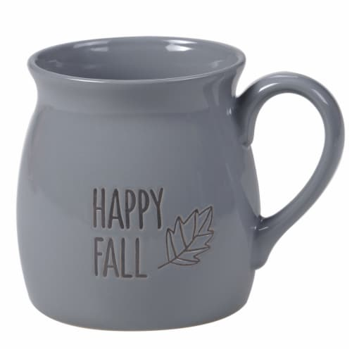 Holiday Home® Happy Fall Wax Relief Mug Perspective: front