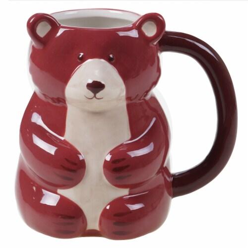 Holiday Home Figural Bear Mug Perspective: front