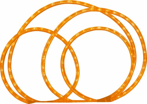 Holiday Home Rope Light - Orange Perspective: front
