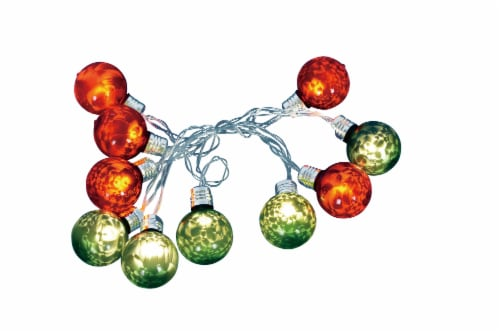 Holiday Home® Multi-Colored Ball Lights Perspective: front