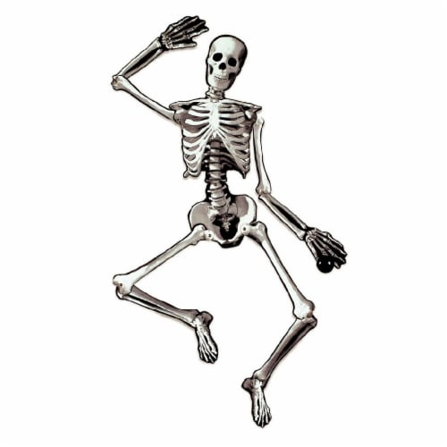 Holiday Home Jointed Cutout Skeleton Perspective: front
