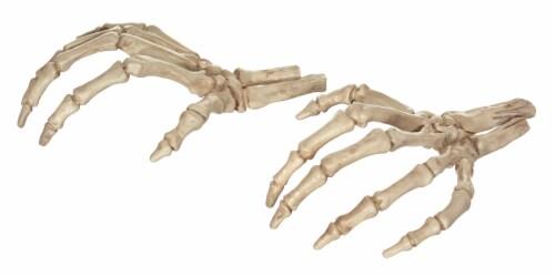 Holiday Home Skeleton Hands Decor - Bone Perspective: front