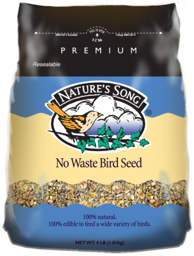 Nature's Song® No Waste Bird Seed Perspective: front