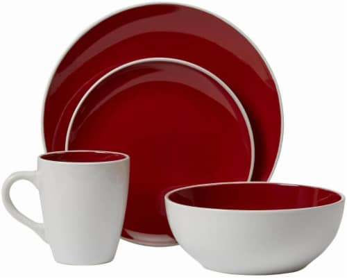 Luminance Red Dinnerware Set Perspective front  sc 1 st  Kroger & Kroger - Luminance Red Dinnerware Set