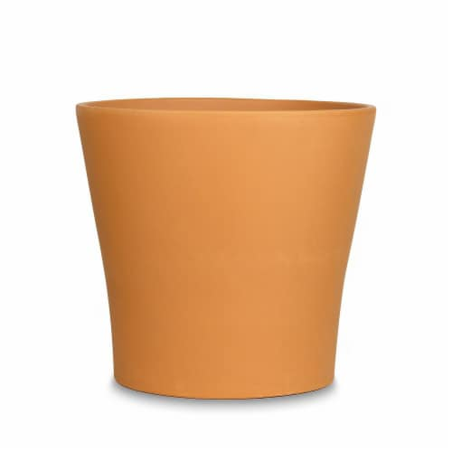 The Joy of Gardening Flare Pot Perspective: front