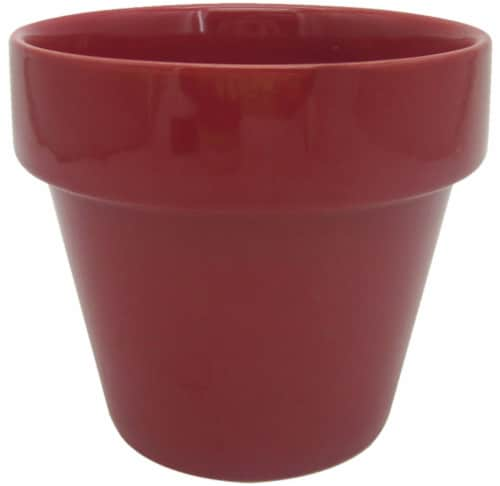 The Joy of Gardening Electric Pot - Red Perspective: front