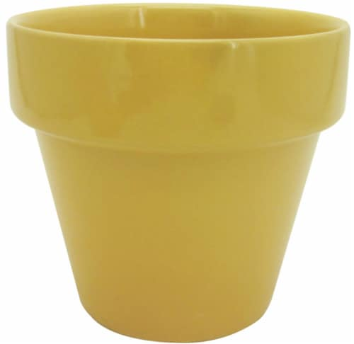 The Joy of Gardening Electric Pot - Yellow Perspective: front
