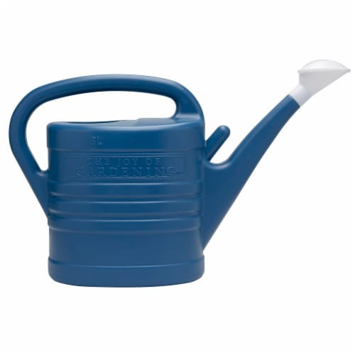 The Joy of Gardening® Watering Can - Blue Sapphire Perspective: front