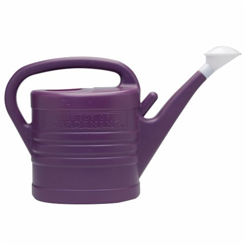 The Joy of Gardening® Watering Can - Plum Caspia Perspective: front