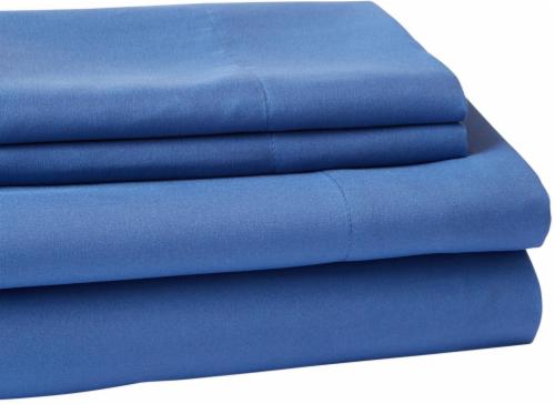 Everyday Living Microfiber Sheet Set - 4 Piece - Dutch Blue Perspective: front