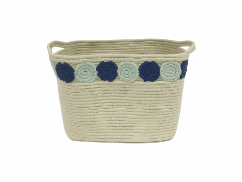 HD Designs® Cotton Rope Basket Perspective: front