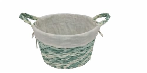 HD Designs Large Paper Rope Decorative Basket Perspective: front