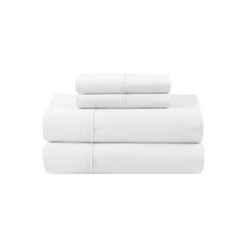 Dip 300 Thread Count Sheet Set - White Perspective: front