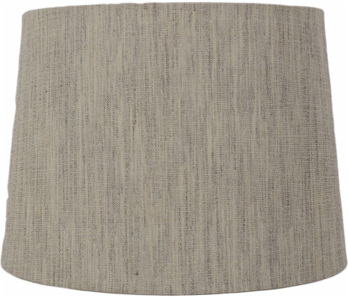 HD Designs Linen Drum Table Lamp Shade - Tan Perspective: front