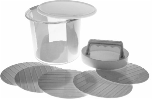 HD Designs Grill Multi-Layer Burger Press Perspective: front