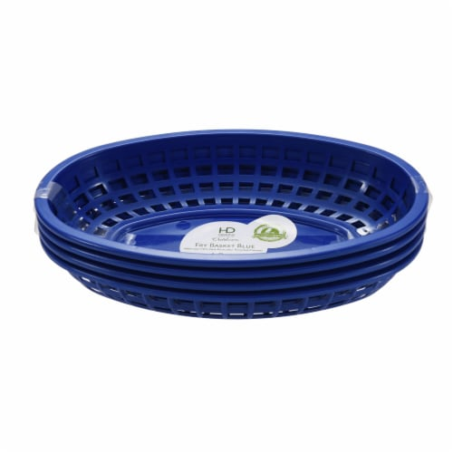 HD Designs Outdoors® Fry Basket - Blue Perspective: front
