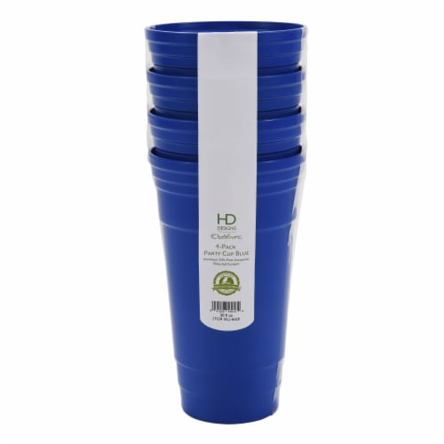 HD Designs Outdoors® Party Cup - 4 Pack - Blue Perspective: front