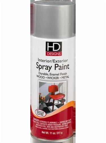 HD Designs® Interior/Exterior Spray Paint - Aluminum Perspective: front