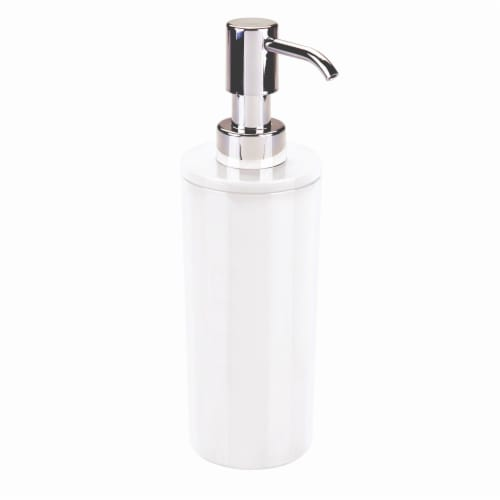 Everyday Living Soap Pump - White Perspective: front