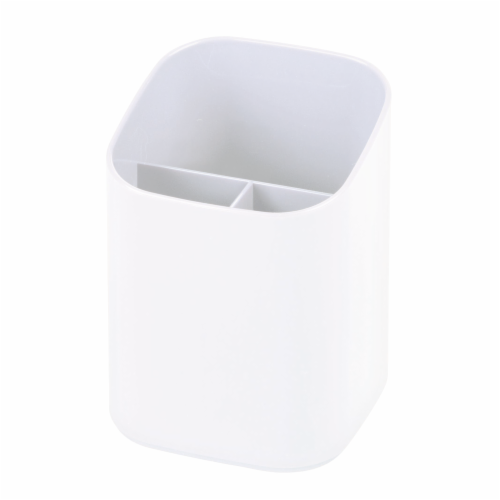 Everyday Living Vanity Organizer - Bright White Perspective: front