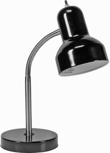 Office Works Site Task Lamp - Black Perspective: front