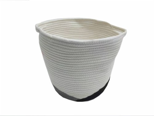 HD Designs Cotton Rope Basket Perspective: front