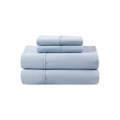Dip 300 Thread Count Sheet Set - Blue Perspective: front