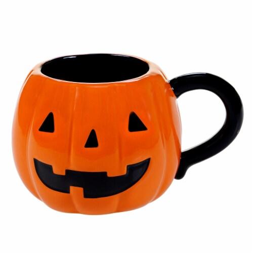 Holiday Home 20 oz 3D Mug - Pumpkin Perspective: front
