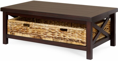 HD Designs® Parker Coffee Table - Brown Perspective: front