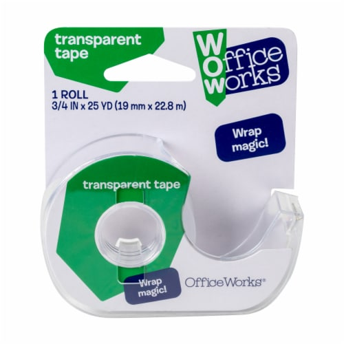Office Works® Stationery Tape - Transparent Perspective: front