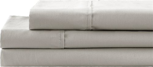 HD Designs 300 Thread Count Sheet Set - Silver Perspective: front