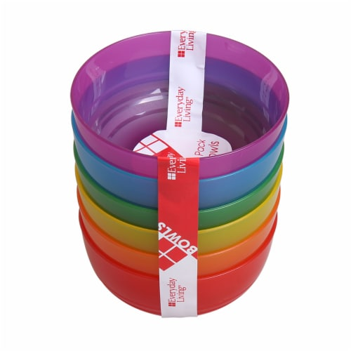 Everyday Living® Kids Poly Pro Bowls - Assorted Perspective: front